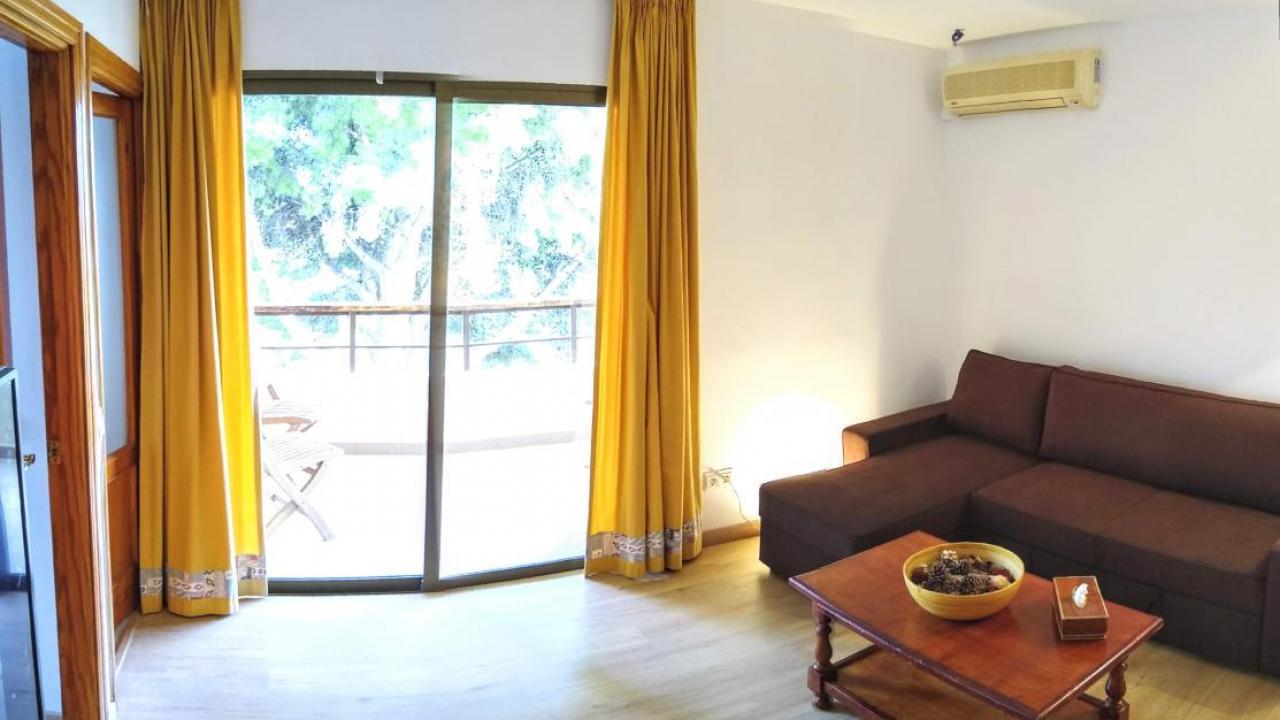 living room & balcony, South-West facing